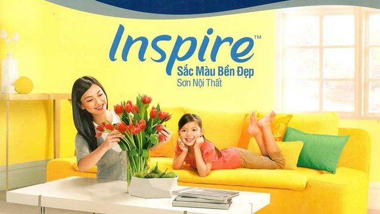 màu sơn trong nhà nội thất dulux inspire