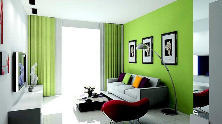 Màu sơn phòng khách đẹp