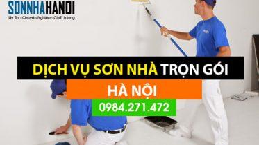 Thợ sơn dịch vụ sơn nhà tại Hà Nội