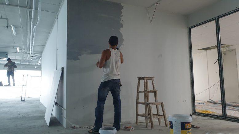 Thợ sơn nhà hà nội - A Tú