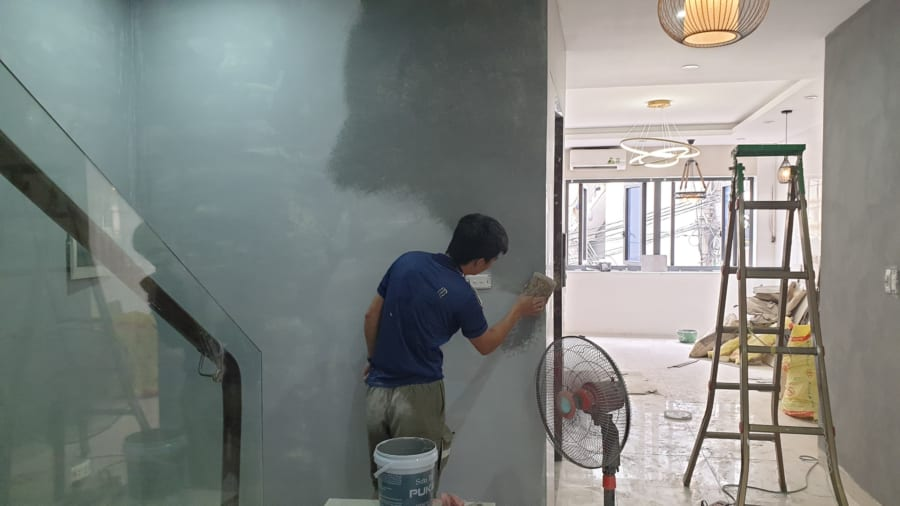 Thợ sơn giả bê tông - A Vũ