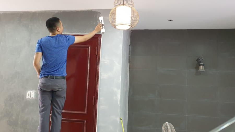 Thợ sơn giả bê tông - E Phương